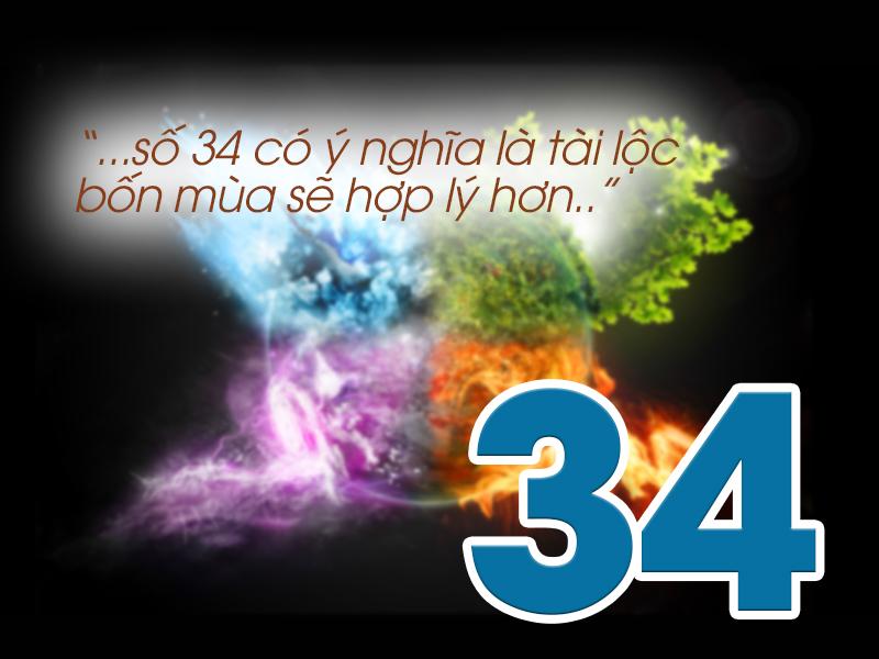 Ý nghĩa số 34