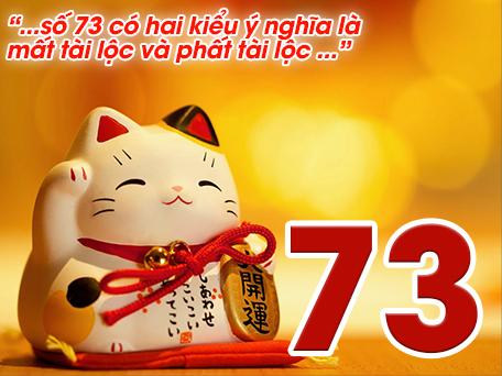 Ý nghĩa số 73