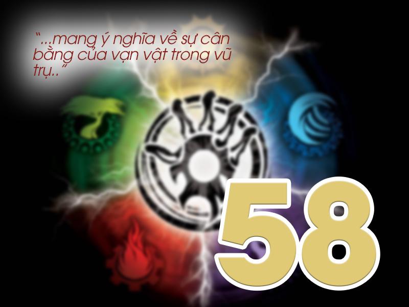 Ý nghĩa số 58