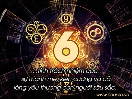Thần số học số 6 chủ đạo