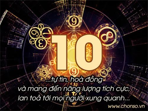 Thần số học số 10 chủ đạo
